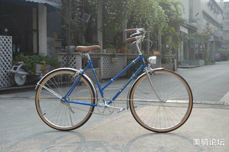 凤凰老式自行车改装复古通勤自行车 美骑论坛 BIKETO自行车论坛