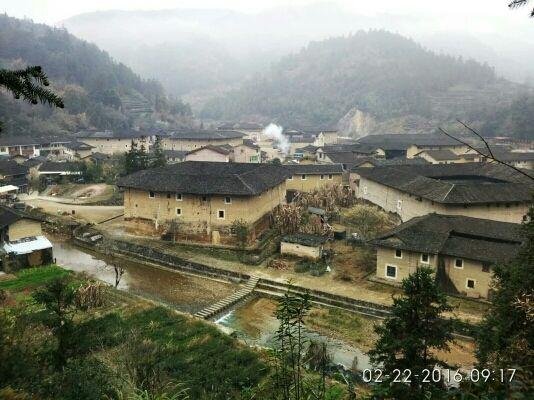 南靖土楼村。